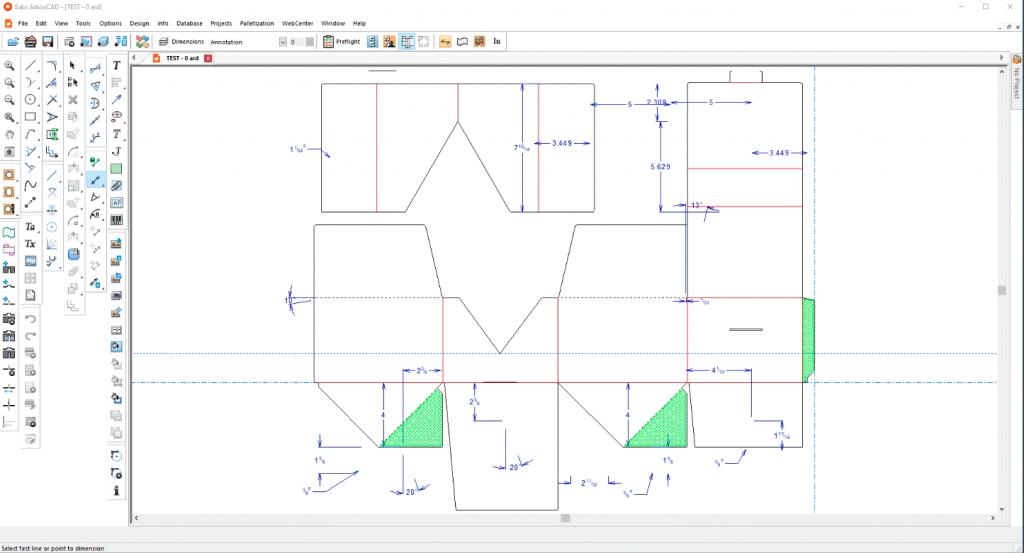 Packaging Software Screen Shot